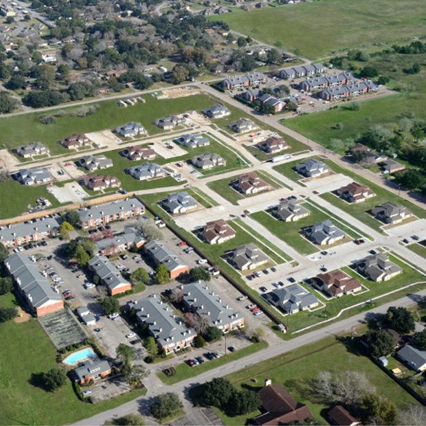 Bay City Aerial View